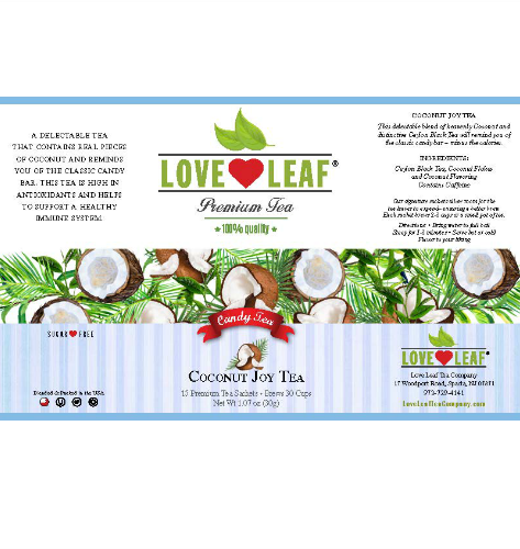 Love Leaf Coconut Joy Tea