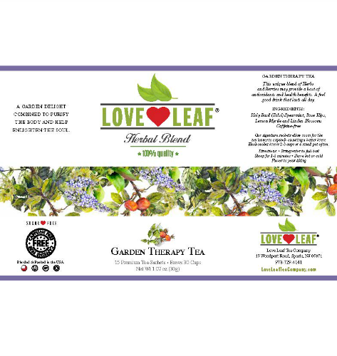 Love Leaf Garden Therapy Tea