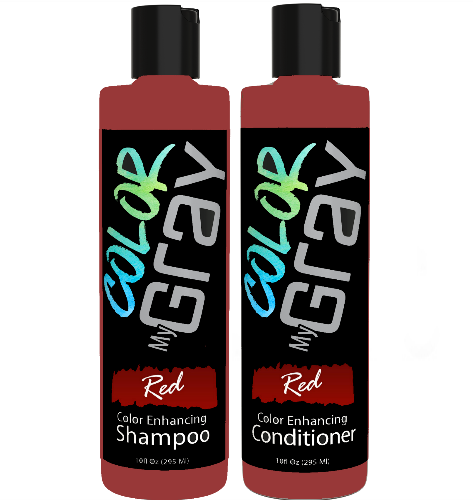 Color My Gray Red Shampoo & Conditioner Combo™