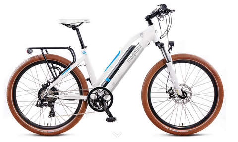 Magnum ui5 urban electric bike white