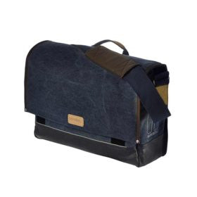 Basil Urban Fold Messenger bag Deep Denim Blue - Ebikesupply