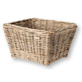Basil Dalton Wicker Basket 13055 M Nature - Ebikesupply