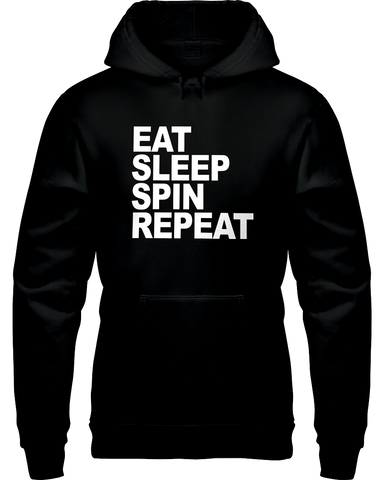 Eat Sleep Spin Repeat Hoodie