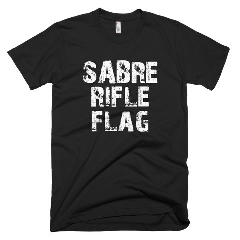 Sabre Rifle Flag T-Shirt