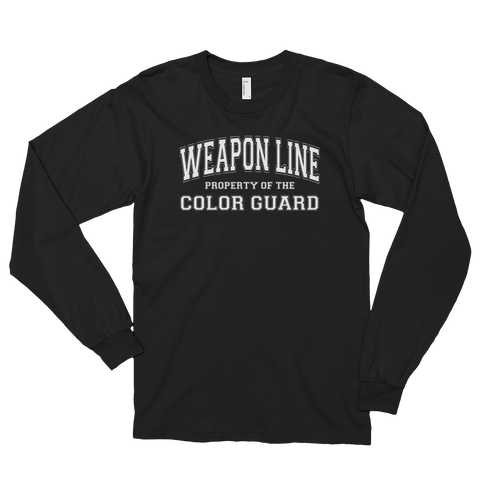 Property of Weapon Line Long sleeve shirt