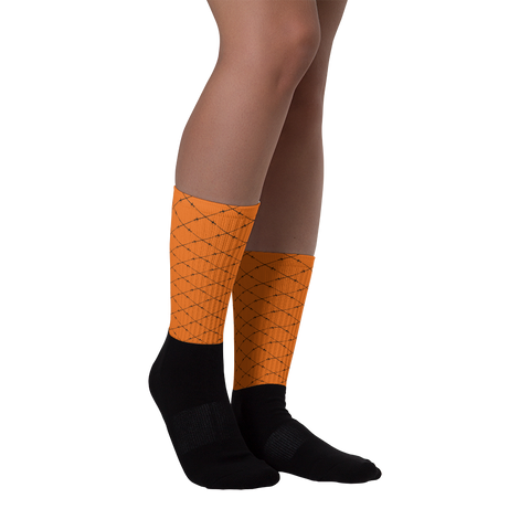 Saber Socks - Orange