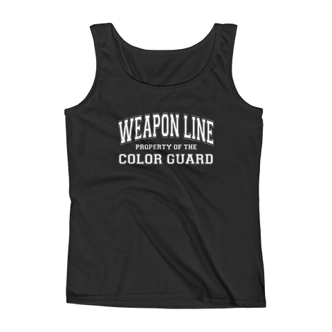 Property of the Weapon Line Tank