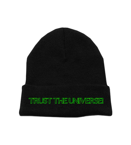 TRUST THE UNIVERSE BEANIE
