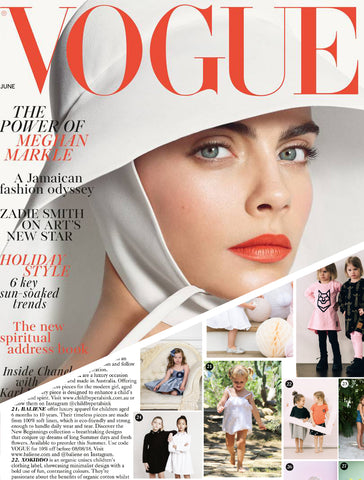 Baliene featured in Vogue