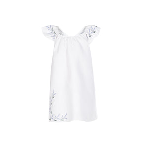 Embroidered Flower Dress - Baliene