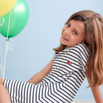 Load image into Gallery viewer, Pima Cotton Striped Dress
