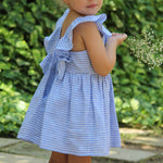 Back-Buttoned Girls Dress - Baliene