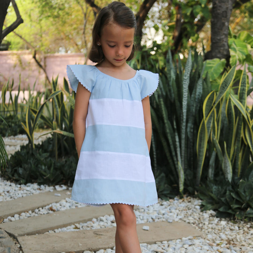 Madeline Girls Dress - Baliene