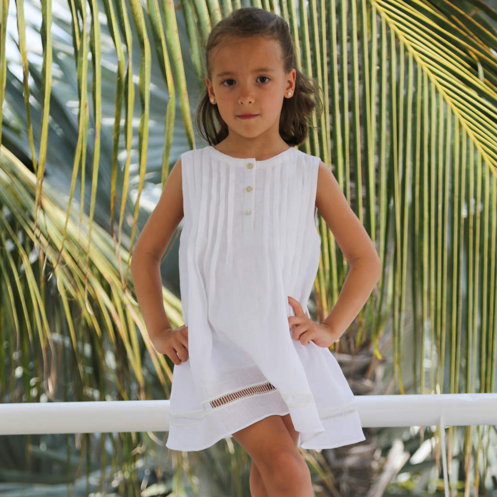 Sabine Girls Dress - Baliene