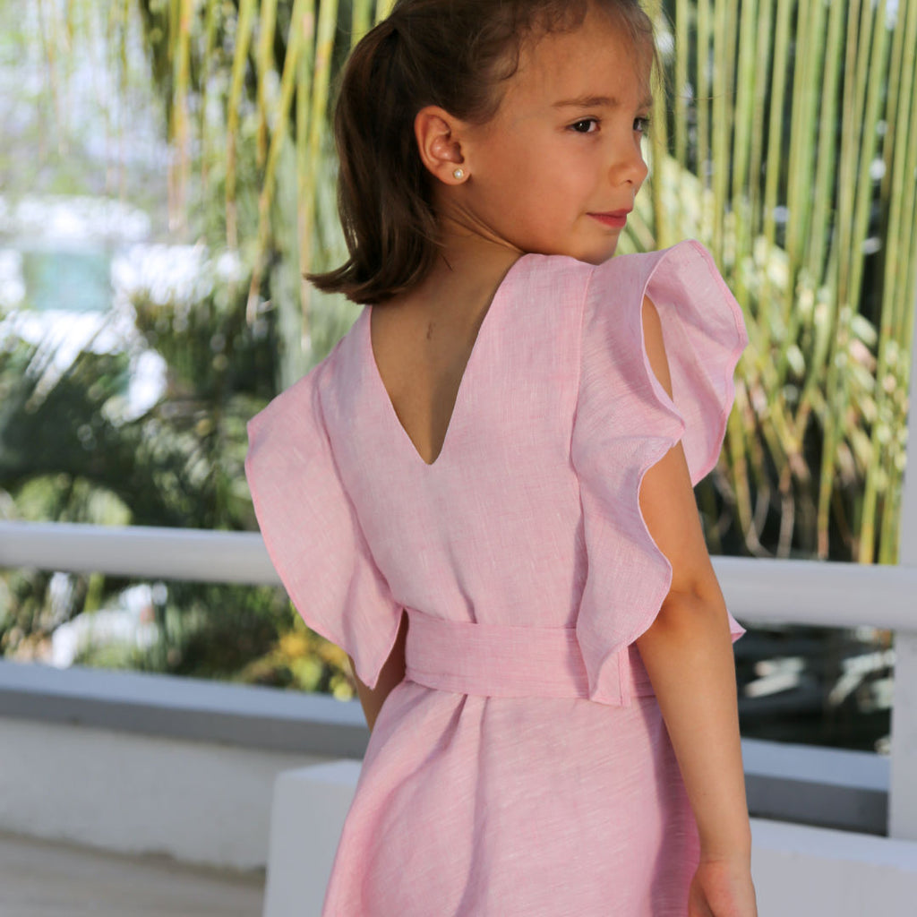 Colette Girls Dress - Baliene