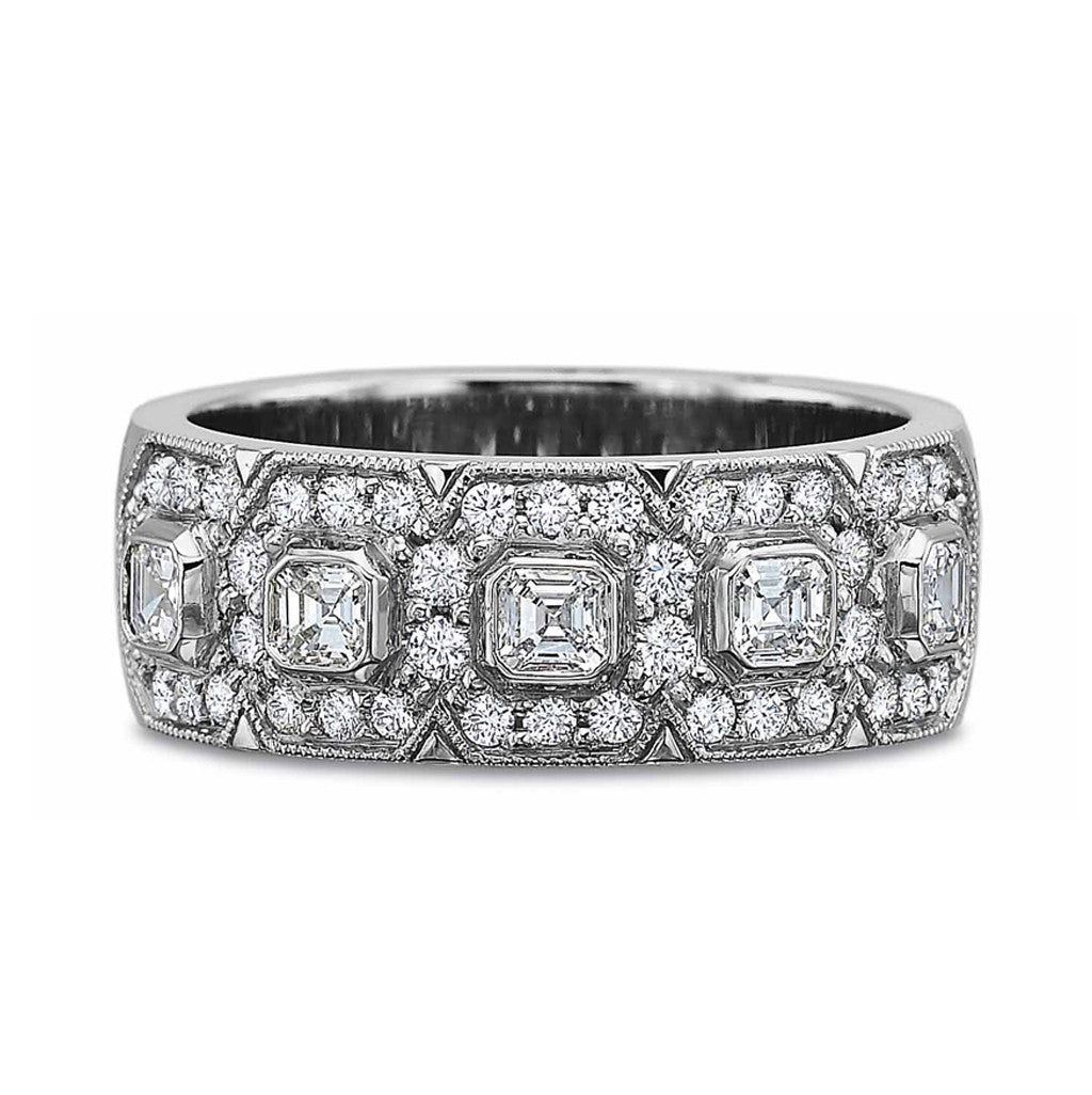 Beautiful Diamond Set Band by Precision Set