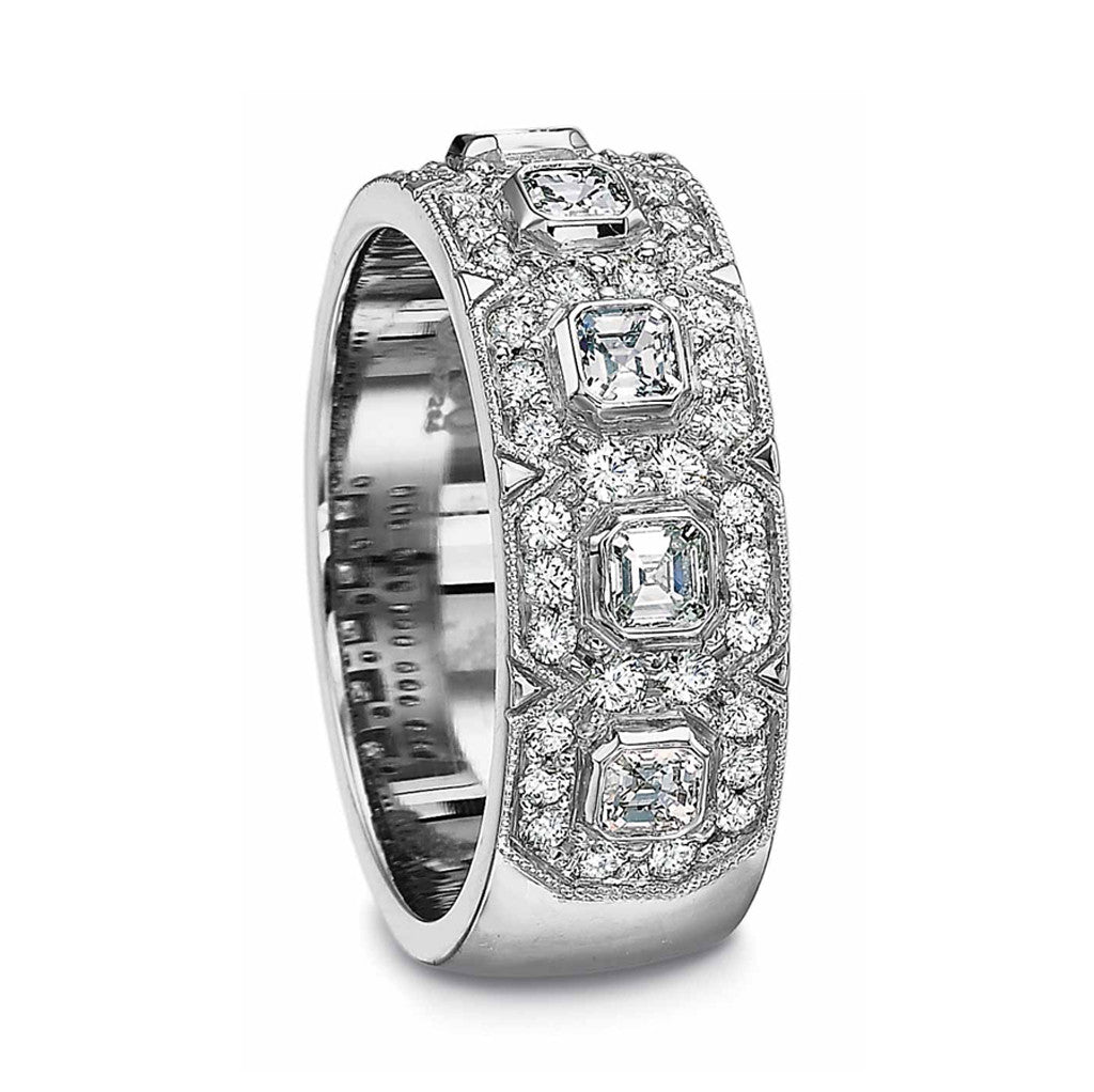 Elegant Diamond Wedding Band