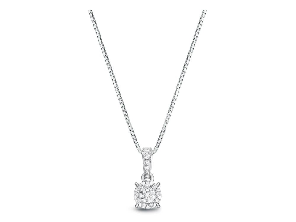 Bouquet Diamond Pendant 0.50ctw