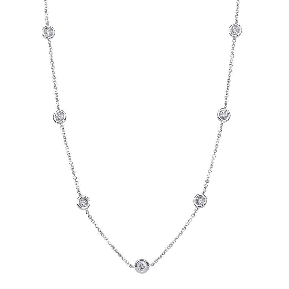 "Diamonds by the Yard 2.08ctw 24"" Necklace"