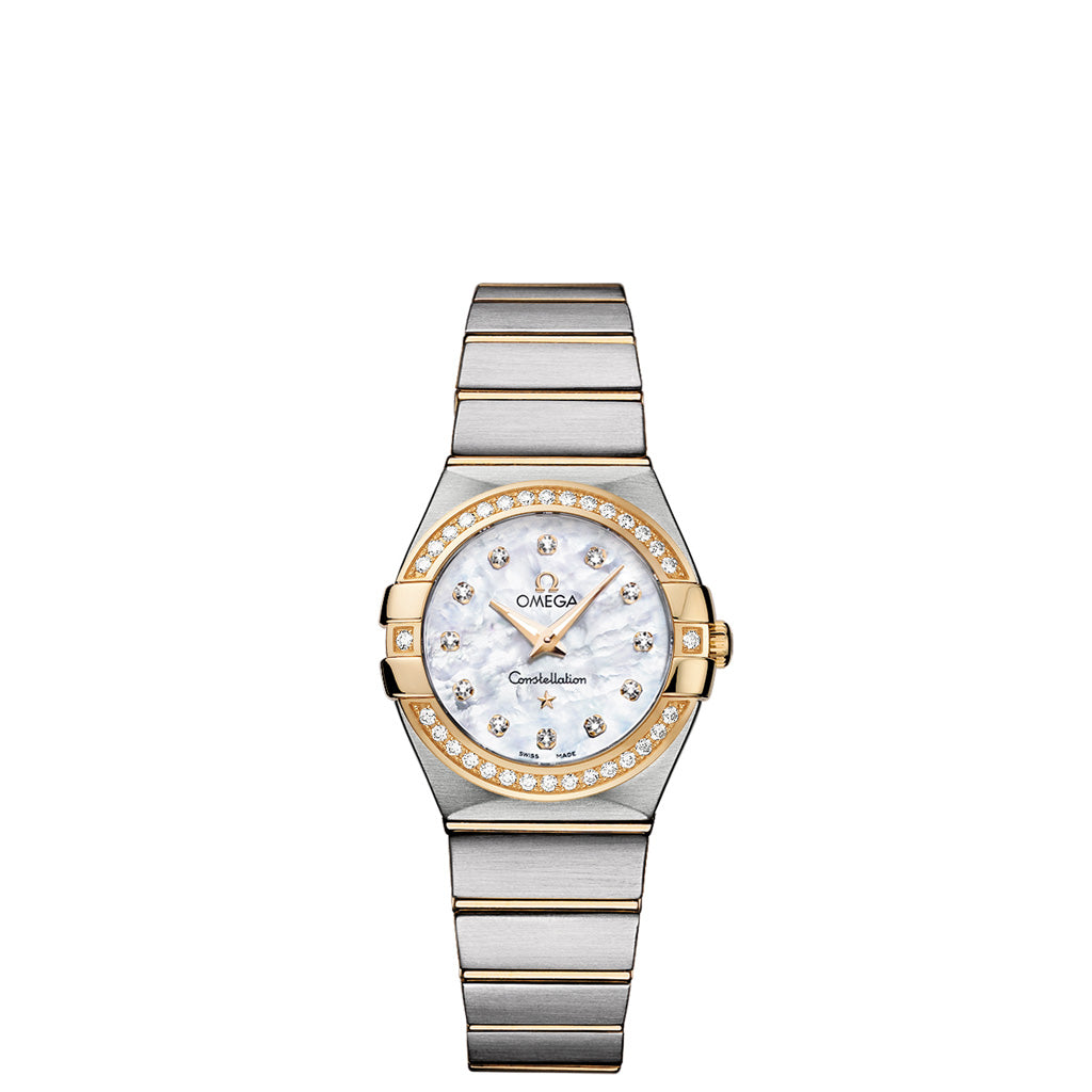 Constellation Quartz Diamond Bezel 123.25.27.60.55.003