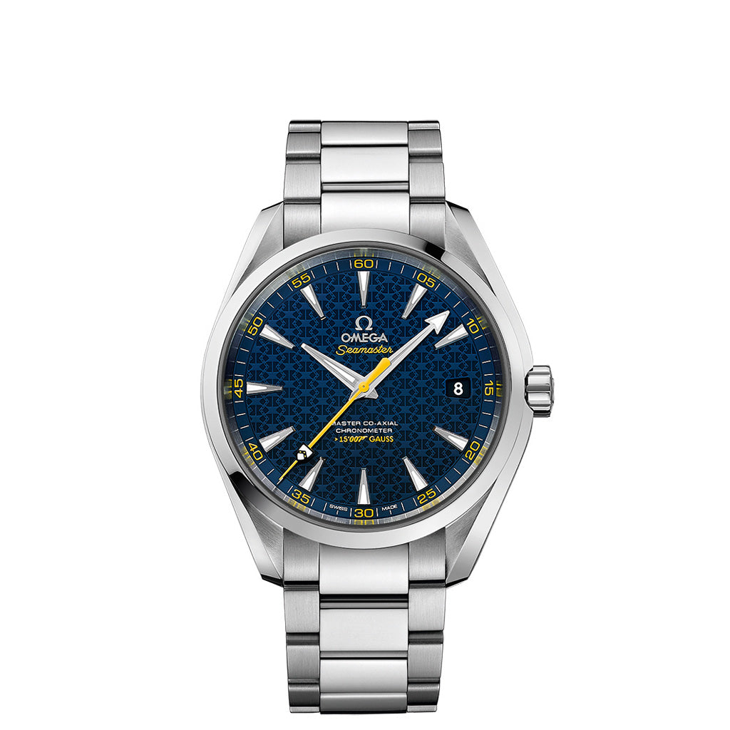 """Limited Edition James Bond"" Seamaster Aqua Terra 150 M Omega Master Co-Axial 231.10.42.21.03.004"