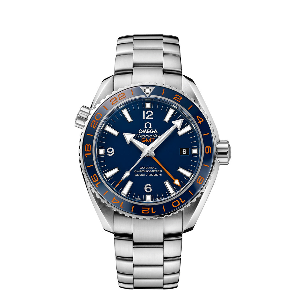 "Seamaster Planet Ocean 600 M Omega Co-Axial  GMT ""GoodPlanet"" 232.30.44.22.03.001"