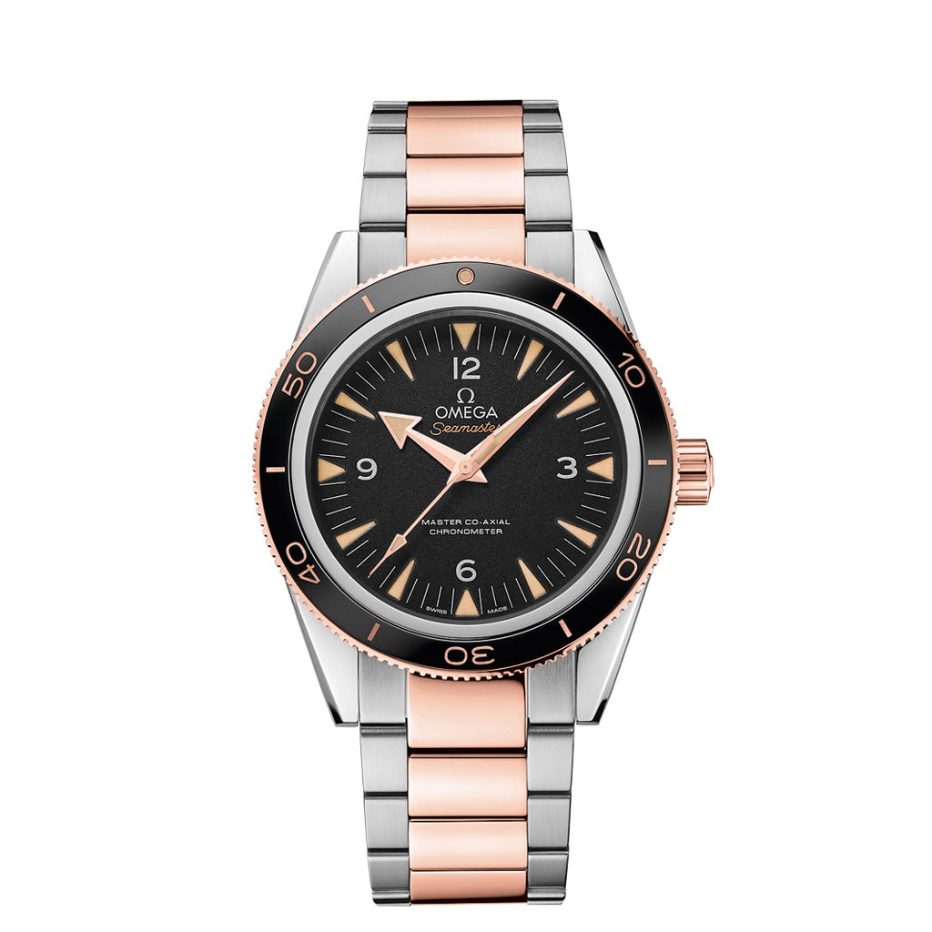 Omega Seamaster 300 in Stainless steel and Rose gold