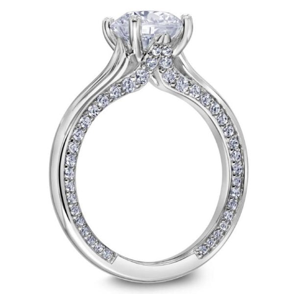 Scott Kay Namaste Engagement Ring