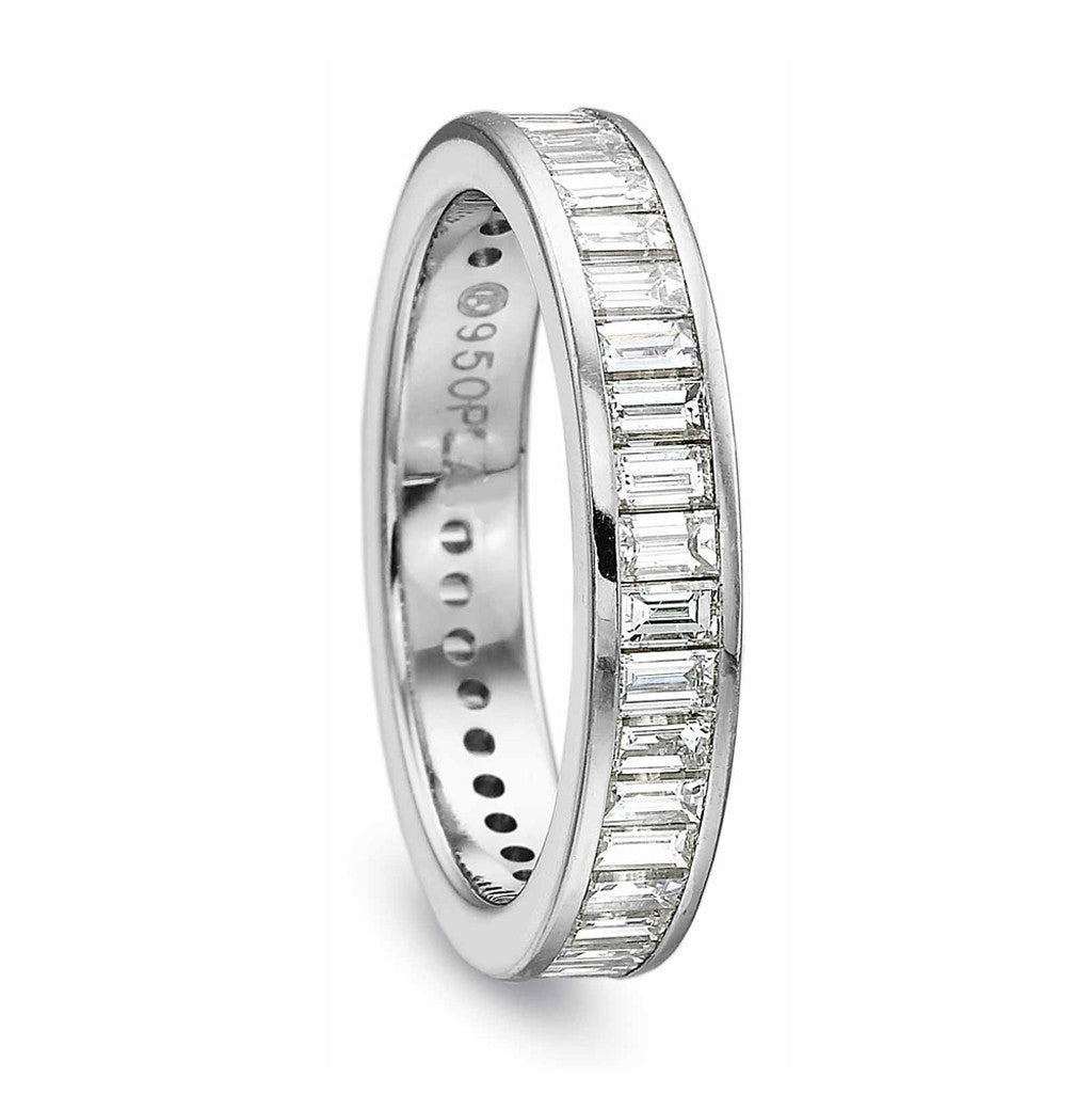 Eternity Band with Channel Set Baguette Diamonds