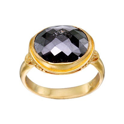 Noir Black Diamond Ring