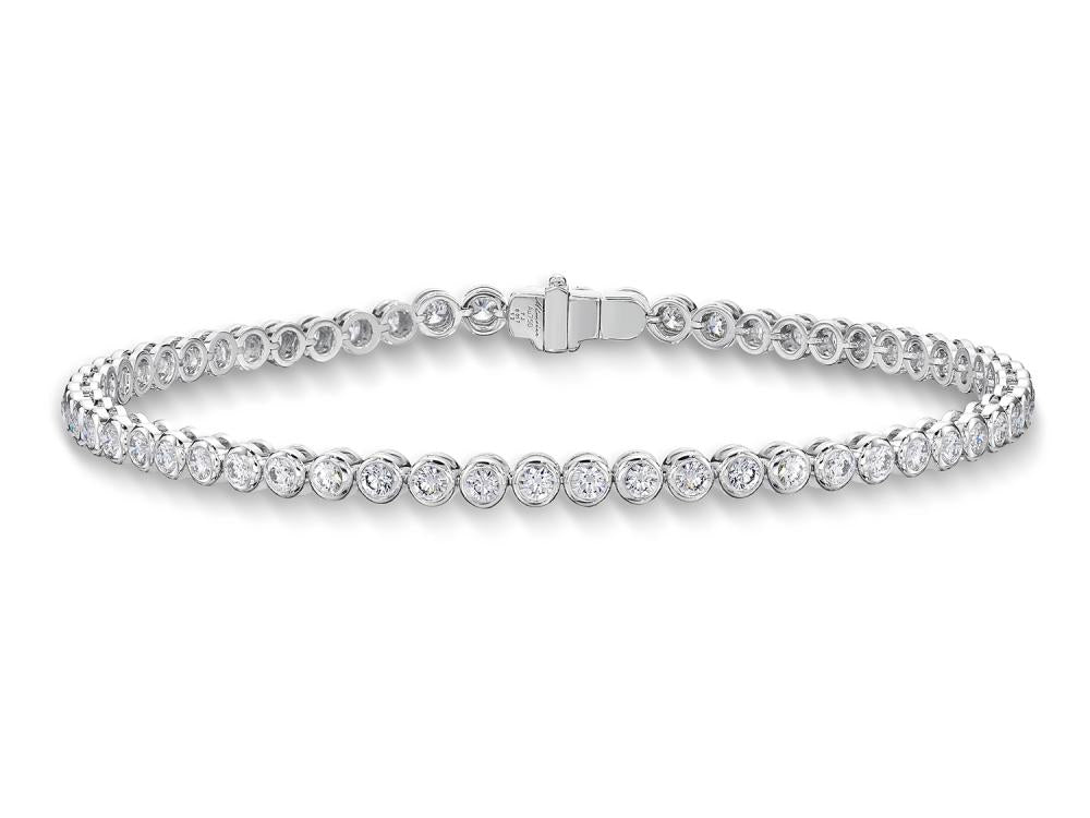 Mini Diamond Bezel Bracelet