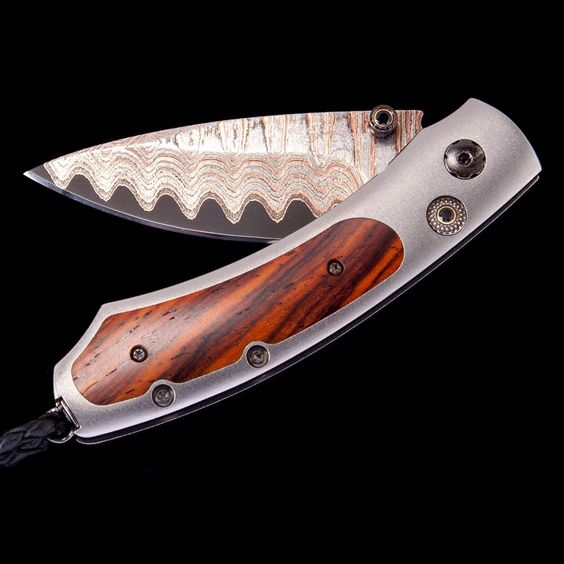 william Henry 'Copper River' Kestrel Pocket Knife