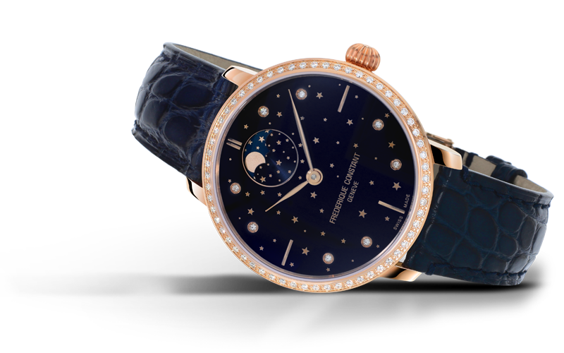 Slimline Moonphase Stars Manufacture Timing In The Stars FC-701NSD3SD4