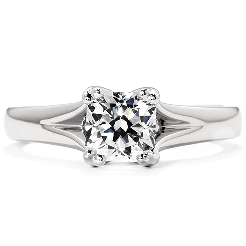 Seduction Solitaire Engagement Ring with Dream Diamond by Hearts on Fire