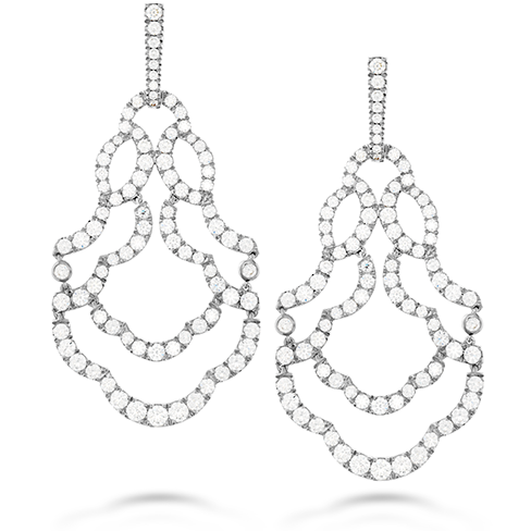 Lorelei Chandelier Diamond Earrings by Hearts on Fire