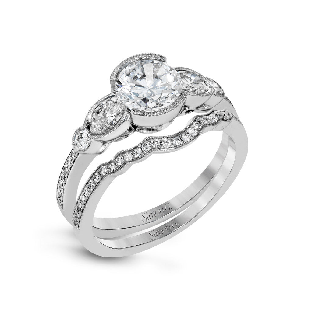 Three Stone Engagement Ring 'Darling'