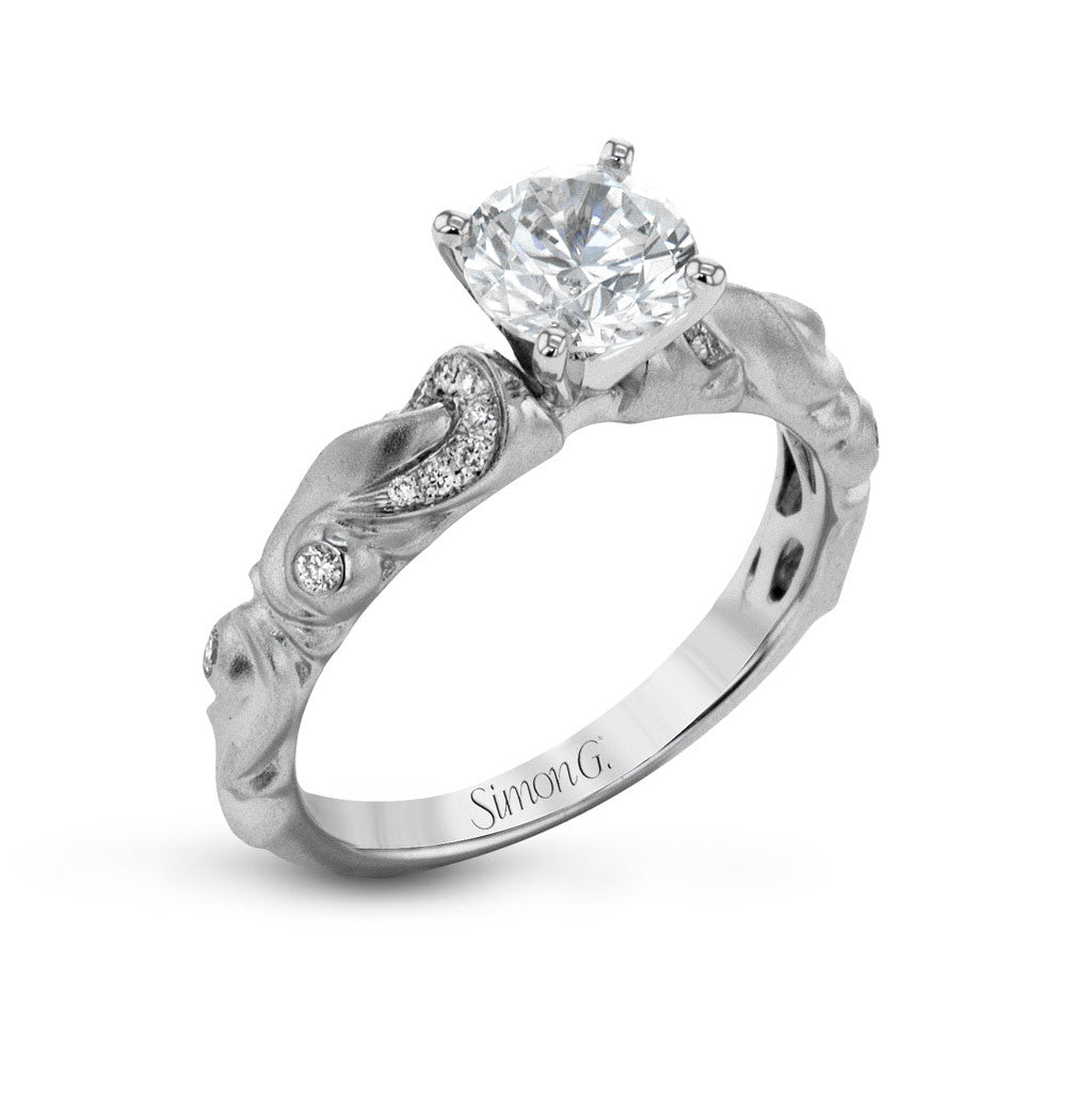 'Ice Queen' White Gold and Diamond Engagement Ring by Simon G