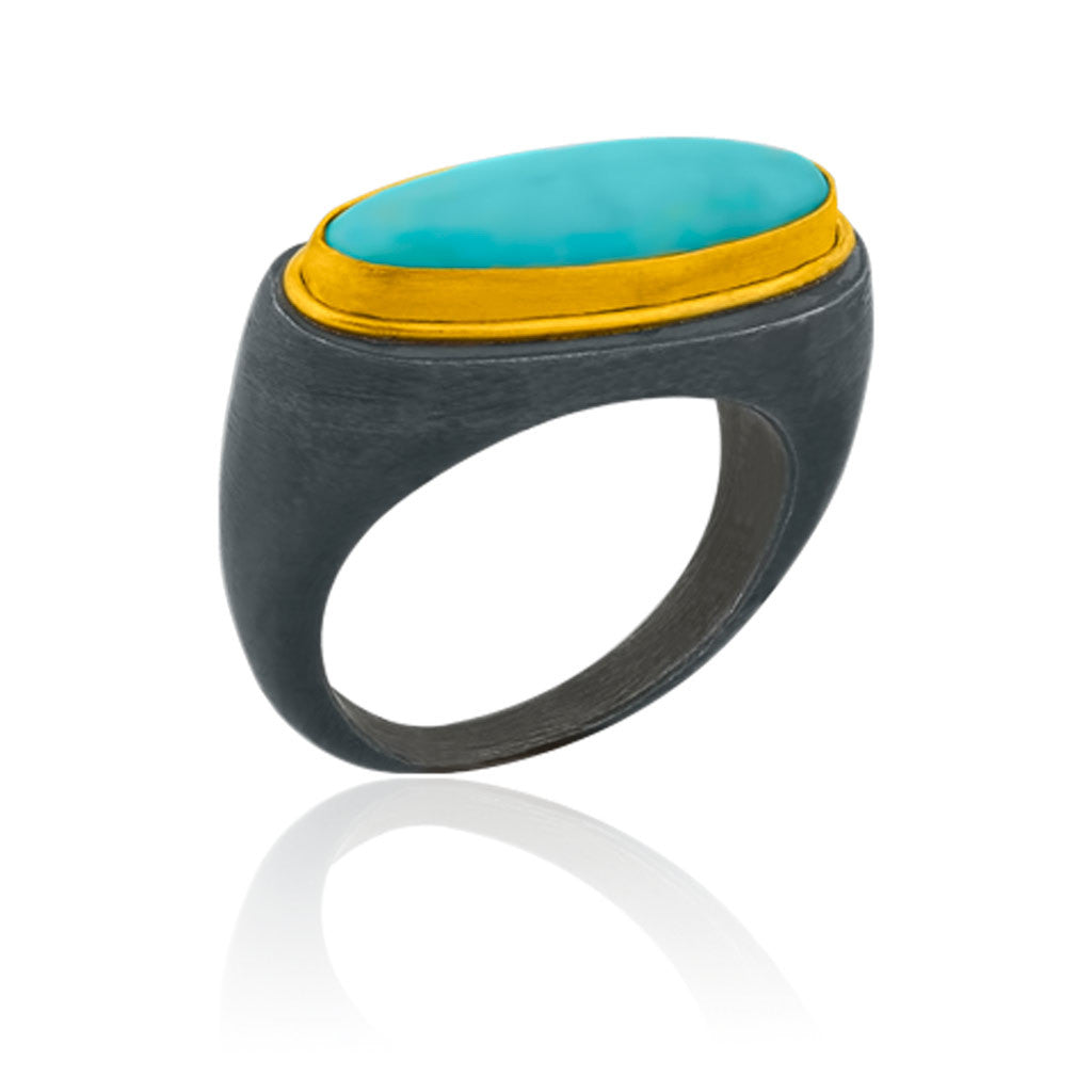 Turquoise Padova Ring by Lika Behar
