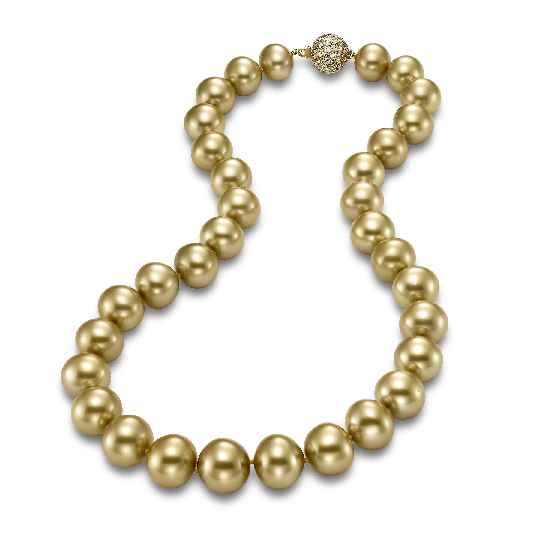 Golden South Sea Pearl Stand