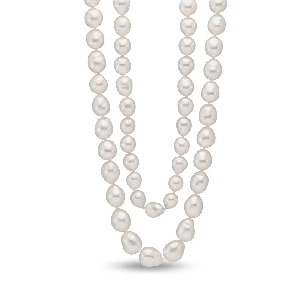 Pearl Necklace of South Sea Baroque Pearls by Mastoloni