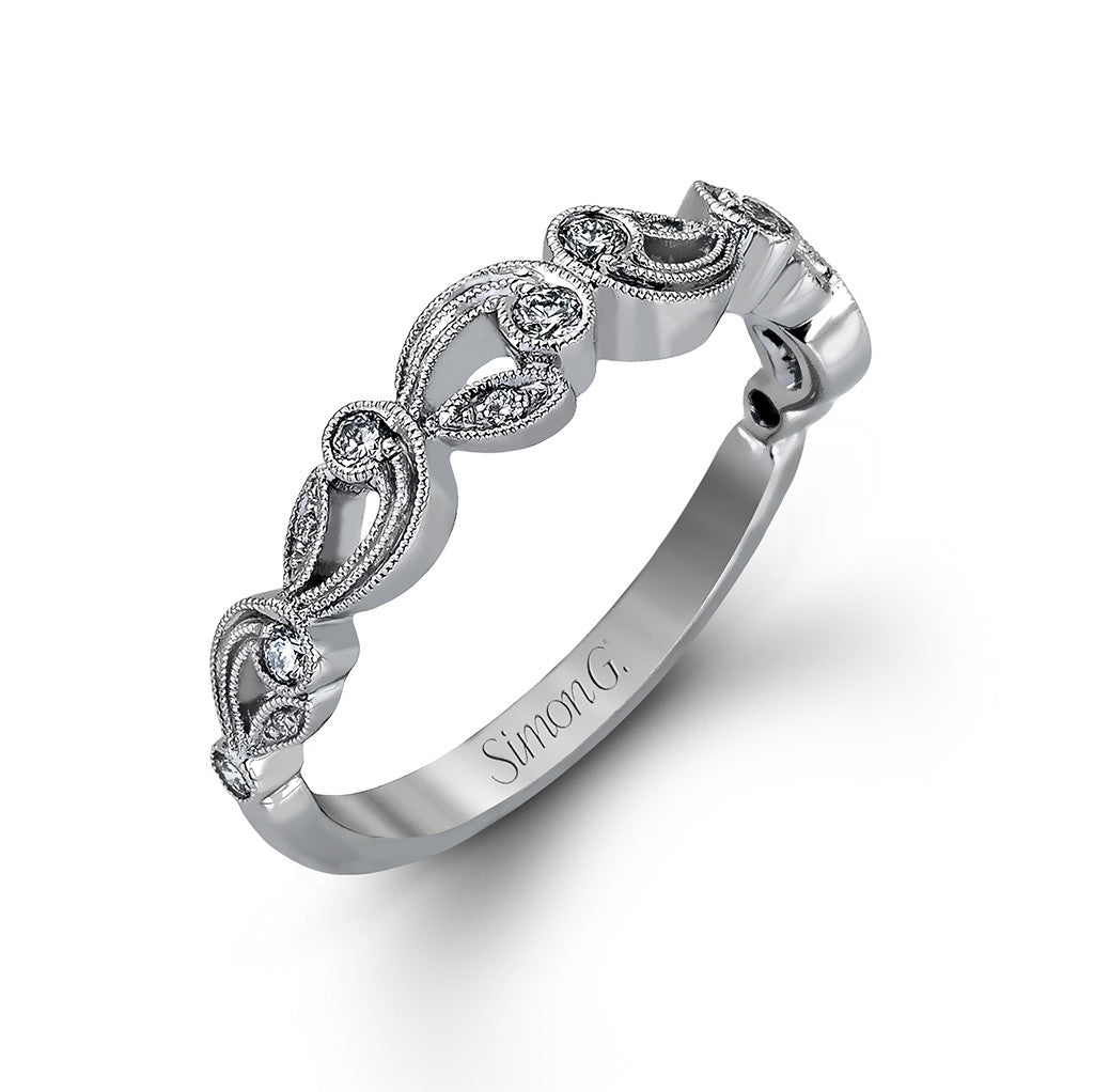 Filigree Wedding Ring by Simon G