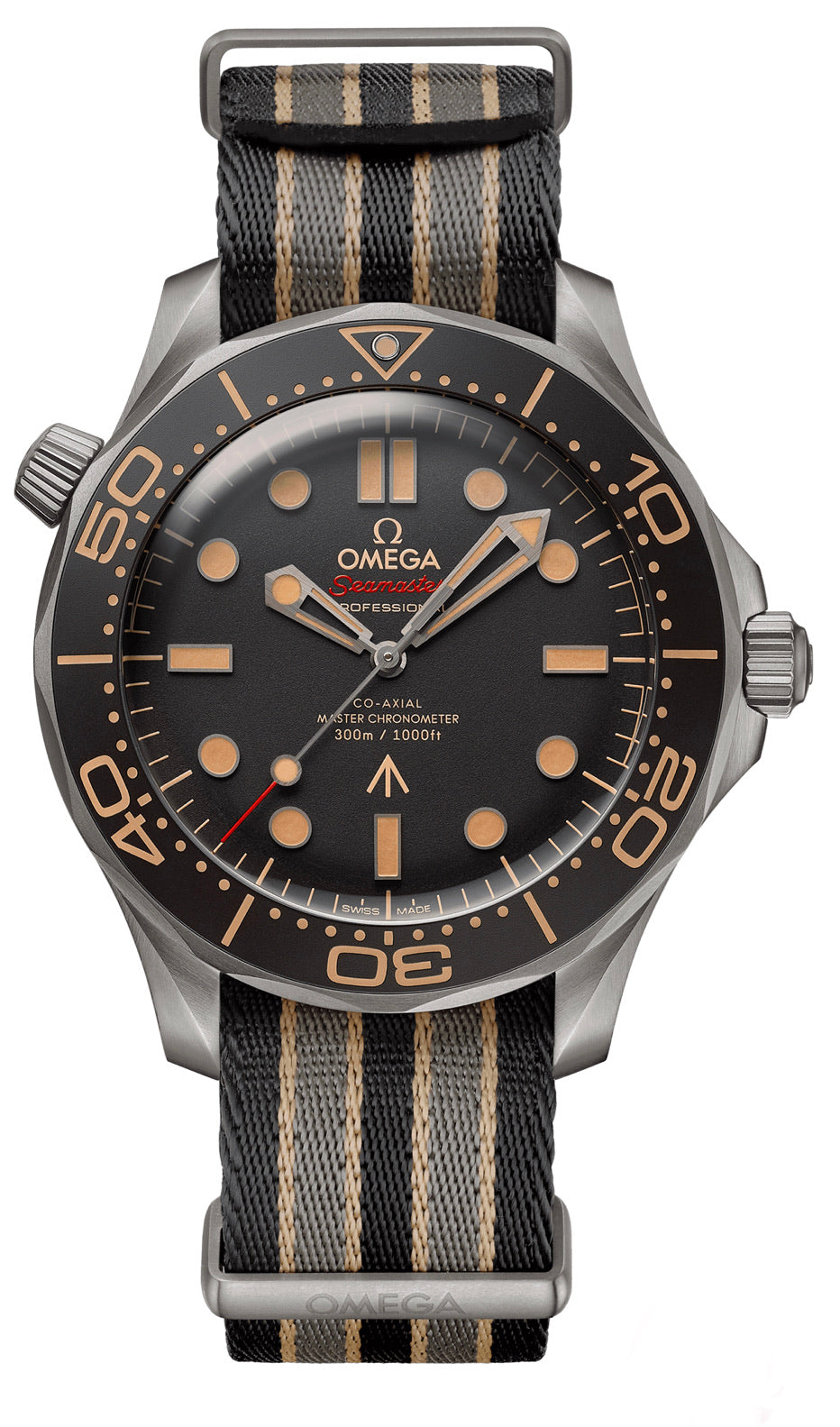 Omega seamaster Seamaster DIVER 300M OMEGA CO‑AXIAL MASTER CHRONOMETER 42 MM 007 Edition 210.92.42.20.01.001