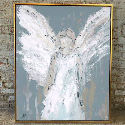 Angel Watching Over You Framed