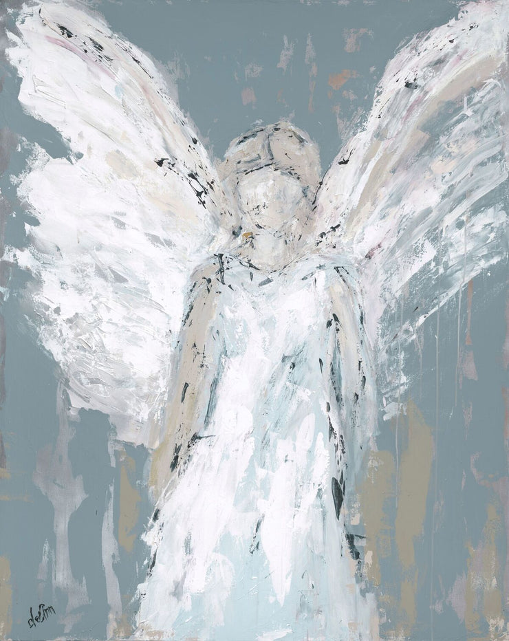 "BOGO: ""Angel Watching Over You"" plus a FREE 10x12 Print! - Deann Art"