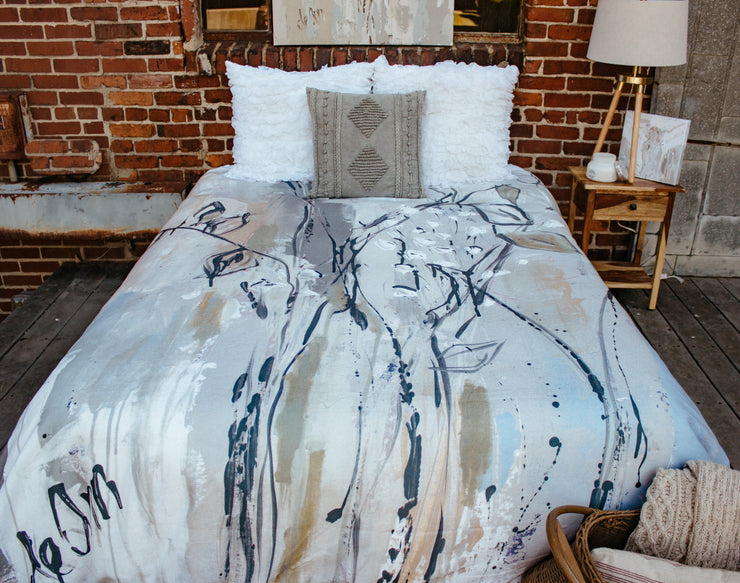 Where The Wild Things Grow Duvet
