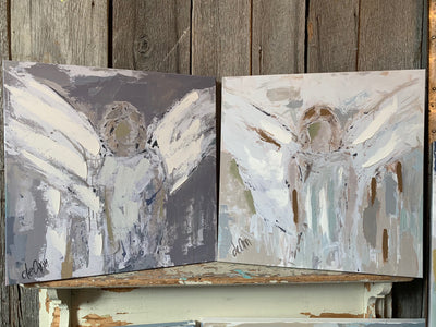 Be An Angel: 24x24 Fearless Angel + Carry You Angel (FREE)