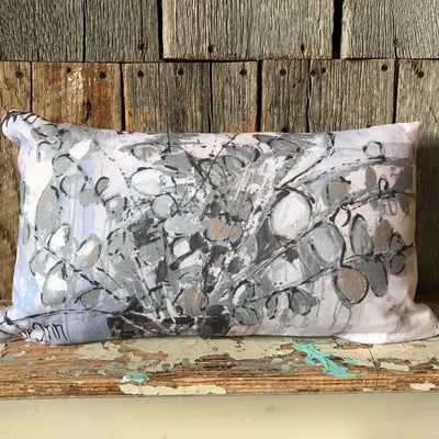 Heal Through Hope Pillow - Deann Art
