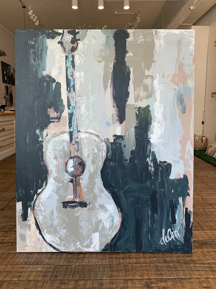 Playin' off the Blues - Original 48x60