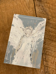 Angel Watching Over You 4x6 Acrylic Block