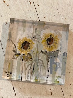You Are My Sunshine 4x4 Acrylic Block